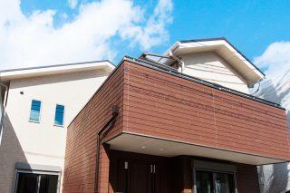 木目バルコニー|京都・滋賀の注文住宅 天然木の家