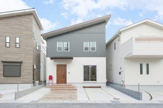 ガルバリウム外壁|京都・滋賀の注文住宅 天然木の家