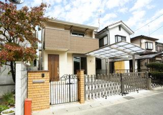 門扉のある家|京都・滋賀の注文住宅 天然木の家