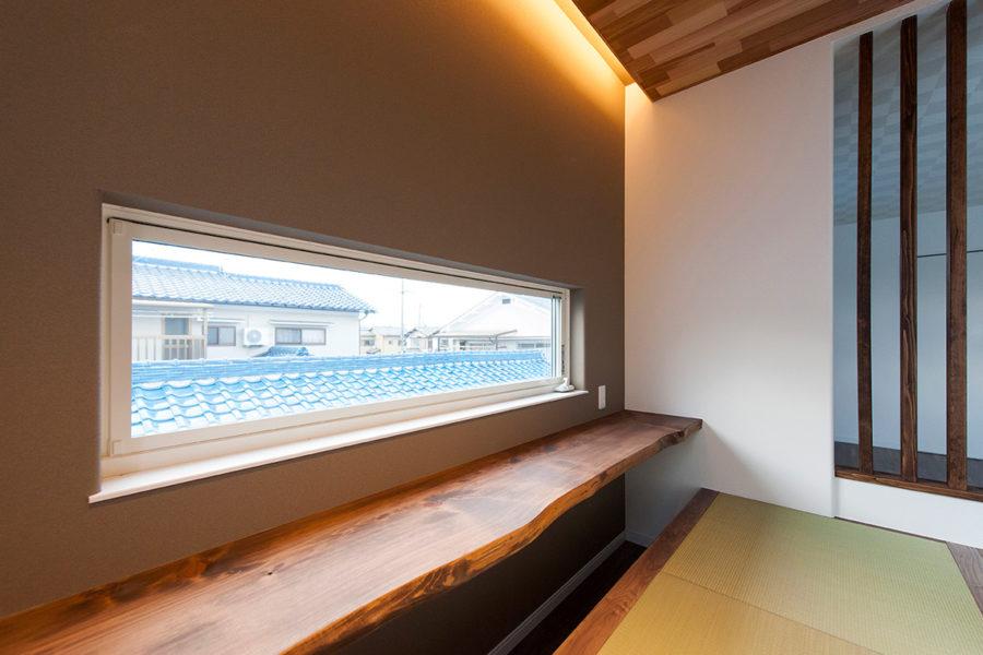 住宅にバー|京都・滋賀の注文住宅 天然木の家