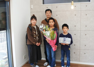 Y様お引渡しセレモニー|京都・滋賀の注文住宅 天然木の家