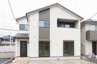 白を基調とした外観|京都・滋賀の注文住宅 天然木の家