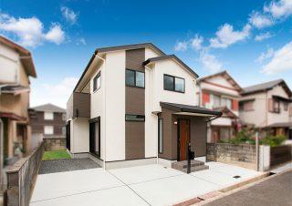 ドッグランスペースのあるシックな色合いの家|京都・滋賀の注文住宅 天然木の家