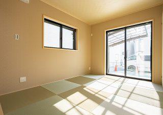 光あふれる和室 京都・滋賀の注文住宅 天然木の家