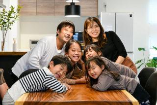 お子さま4人の賑やかなYさまご家族|京都・滋賀の注文住宅 天然木の家
