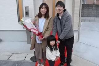 セレモニーでの記念撮影|京都・滋賀の注文住宅 天然木の家